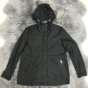 Hunter Women's Rain Jacket   Matte Black   Small